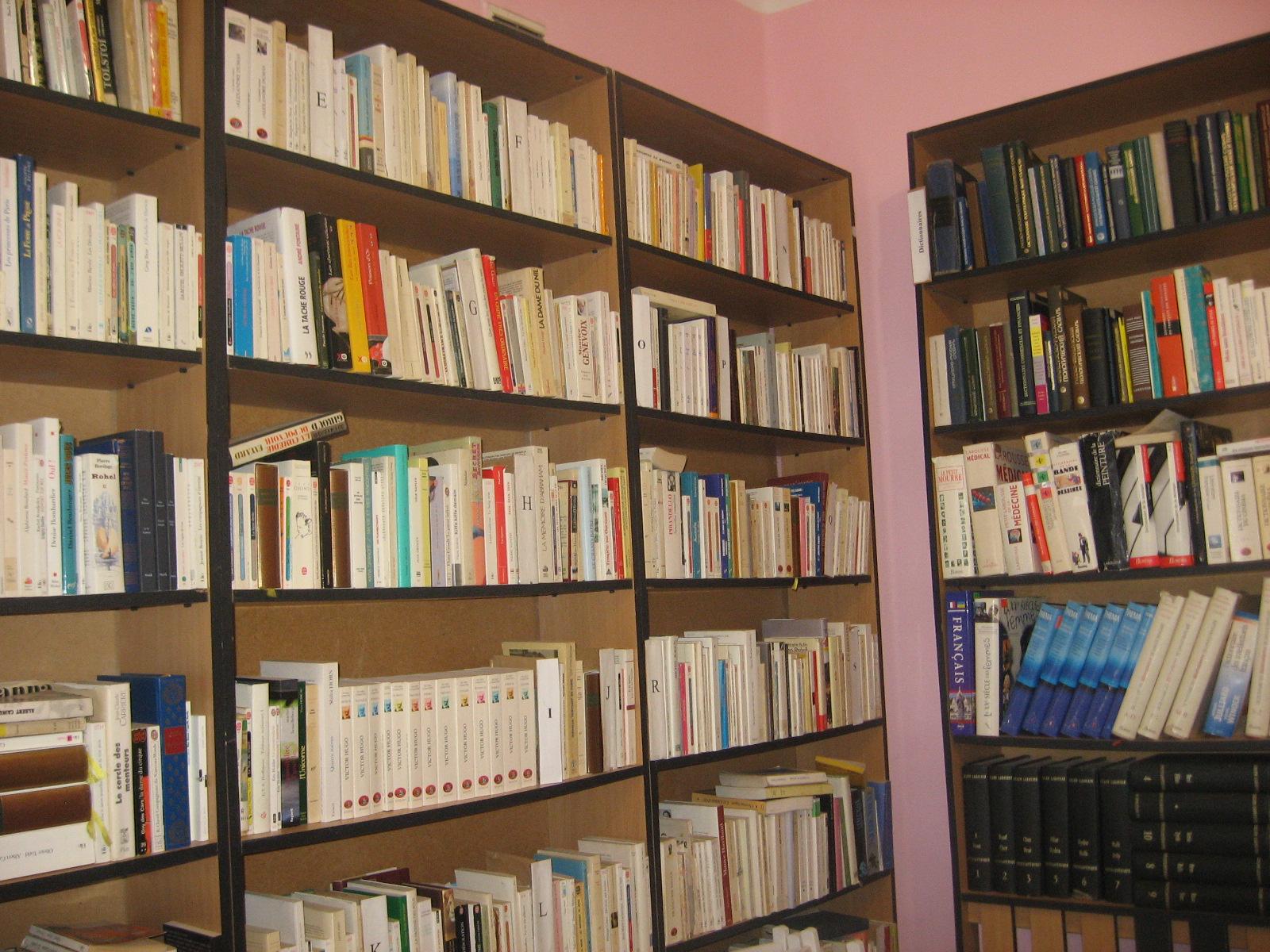 Французкий зал в Одесской научной библиотеке
